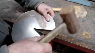 Как сделать флюгарку в дачной мастерской своими руками с небольшим опытом жестянщика