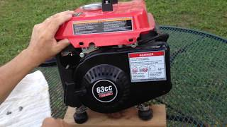 Harbor Freight Generator Issues