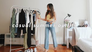 CASUAL SUMMER OUTFITS 💛 | Summer Lookbook 2020