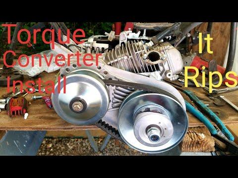 Predator 212 Stage 1 (hemi) plus eBay torque converter install