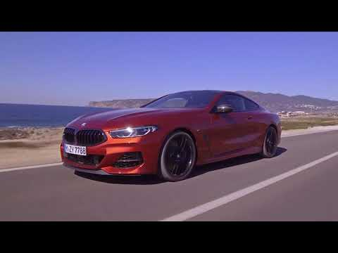 The New BMW 8 Series Driving Video On The Country Road