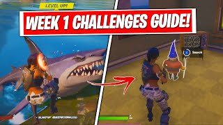 Fortnite Season 3 Week 1 Challenges Guide & Locations! (FULL CHALLENGES FAST & EASY)