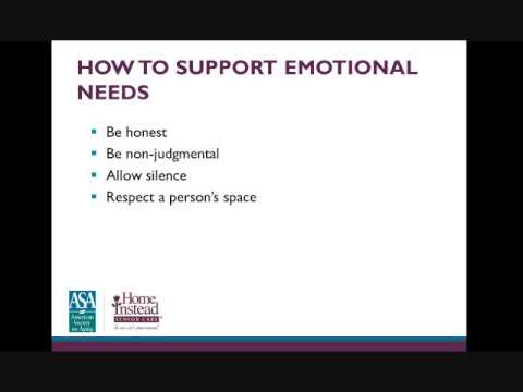Supporting Families through Hospice and Palliative Care - Professional Caregiver Webinar