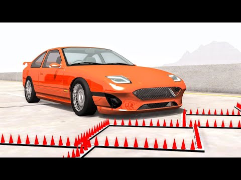 Massive Spike Strip Pileup Crashes #53 – BeamNG Drive | CrashBoomPunk