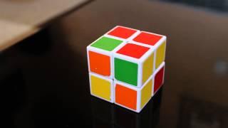 Rubik's 2x2 stop motion solve (V-cube 2)
