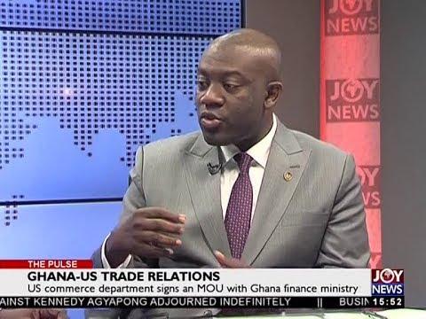 Ghana-US Trade Relations - The Pulse on JoyNews (4-7-18)