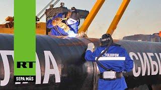 """China retoma """"la mayor construcción del mundo"""" y continúa el gasoducto Fuerza de Siberia"""