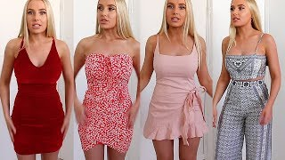 TRY ON CLOTHING HAUL! White Fox Boutique | Lauren Curtis