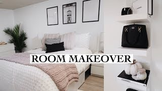 EXTREME BEDROOM MAKEOVER + Room Tour