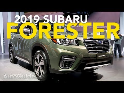 2019 Subaru Forester First Look - 2018 New York Auto Show