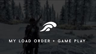 Skyrim SE Graphics mods on PS4 ( load order + gameplay )