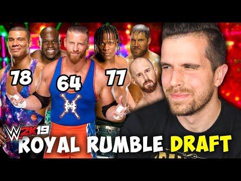 WWE 2K19 ROYAL RUMBLE DRAFT #2 (w/ Pulse)