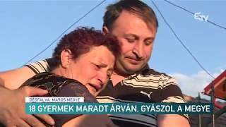 18 gyermek maradt árván, gyászol a megye– Erdélyi Magyar Televízió