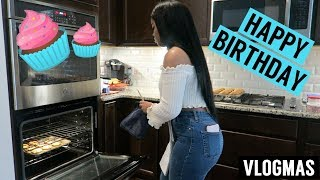 BAKING MY BOYFRIEND CUPCAKES FOR HIS BIRTHDAY!! | VLOGMAS DAY 11
