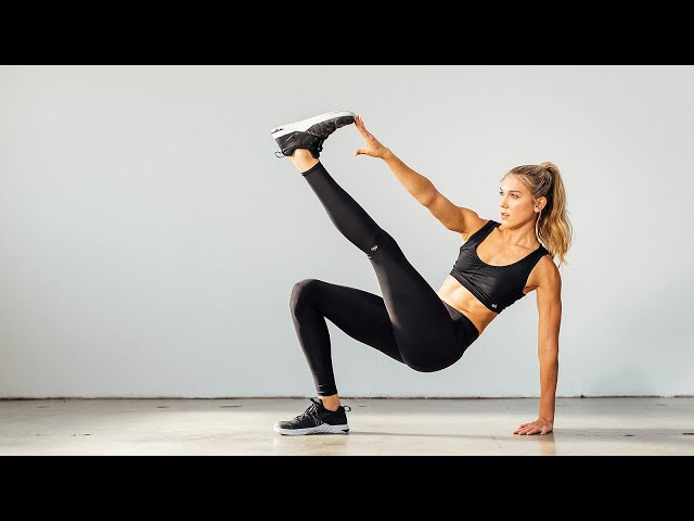 Full Body at Home HIIT & Strength Workout with Callie Gullickson – 20 Minute Home Yoga Workout