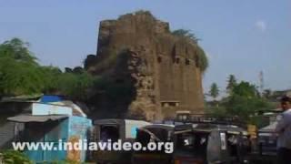 Ruins in the historical city of Bijapur, Karnataka
