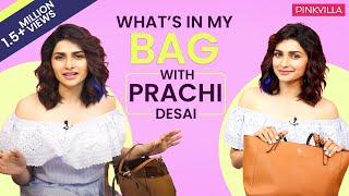 What's in my bag with Prachi Desai | S03E05 | Fashion