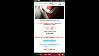 download hindi audio track for movies in english
