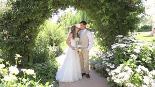 Best Officiant and Vows at a Wedding - White Ranch Chico Billy&Kim