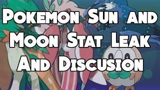 Toucannon  - (Pokémon) - BASED STATS LEAKED! Pokemon SuMo Leak And Speculation! Decidueye, Salazzle, Toucannon, and more!
