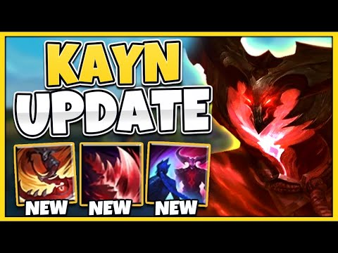 *NEW UPDATE* RIOT JUST MADE KAYN A TOP LANER (WTF IS THIS?!?) - League of Legends