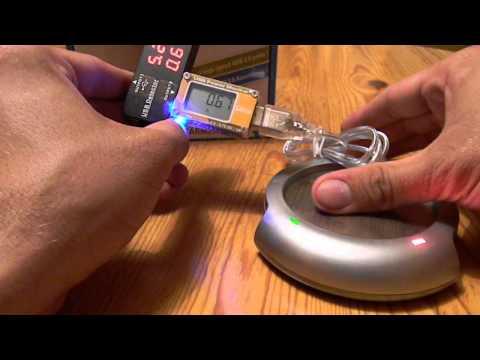 USB Kaffee Tee Tassenwärmer 60 Grad Great Gadgets