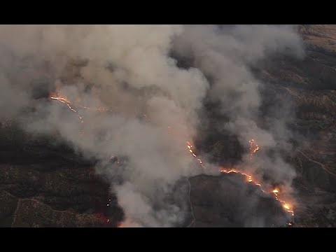 Live: 4,100+ Acres Burned, 3 Structures Destroyed in Cherry Valley Fire | NBCLA