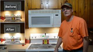 Range Hood Light Upgrade from Incandescent bulbs to LED Lamps
