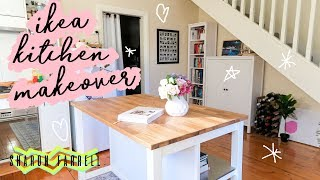 MY IKEA KITCHEN MAKEOVER | Sharon Farrell