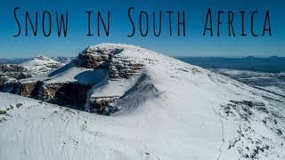 Finding Snow in South Africa