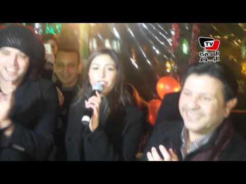 غناء «جنات» و«الجريني» في عيد ميلاد هاني شاكر