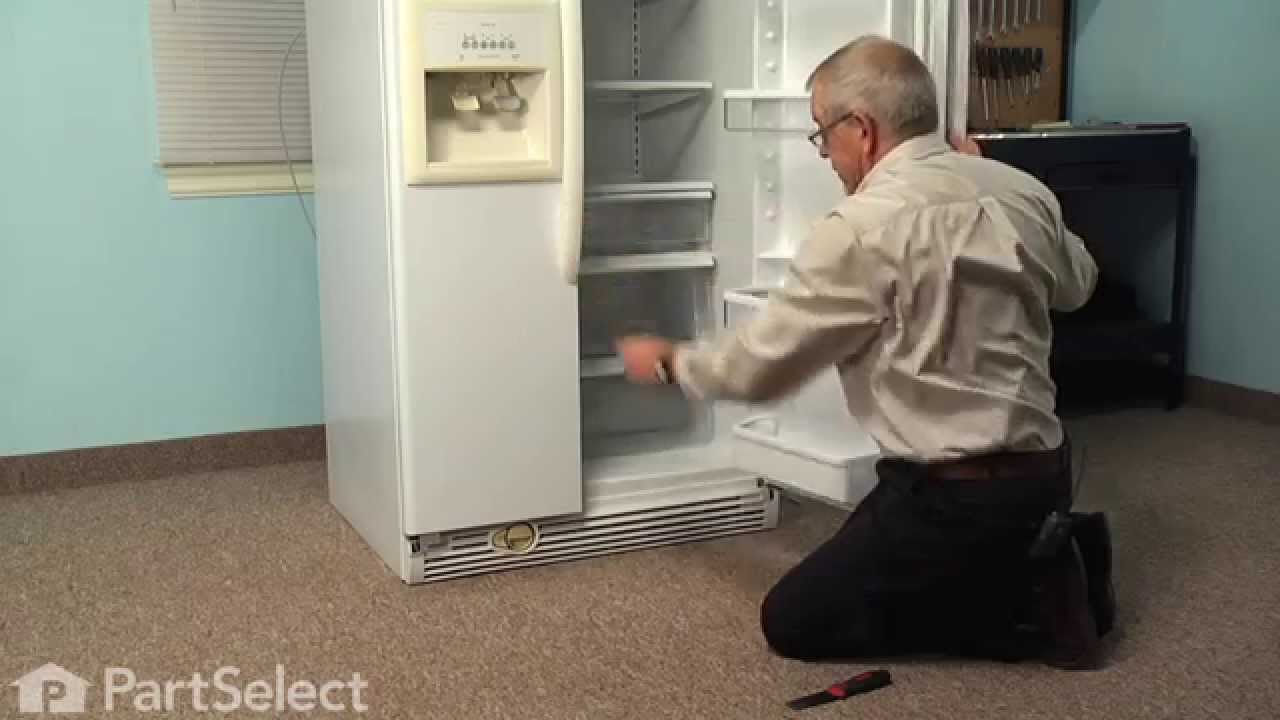 Replacing your Kenmore Refrigerator Water Filter Housing