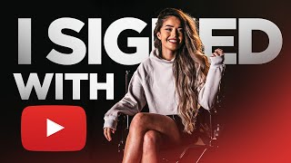 VALKYRAE SIGNS WITH YOUTUBE! ANNOUNCEMENT VIDEO!