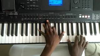 Piano Gospel CCM Feel (Oceans Will Part By Hillsong) ..Rehearsal Session/tutorial