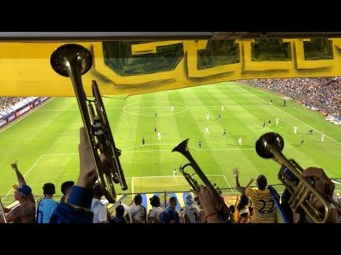 """""""El trapo de Di Carlo- Boca Tigre 2018"""" Barra: La 12 • Club: Boca Juniors • País: Argentina"""