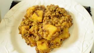 Nigerian Bean And Yam Porridge: Short And Simple Recipe