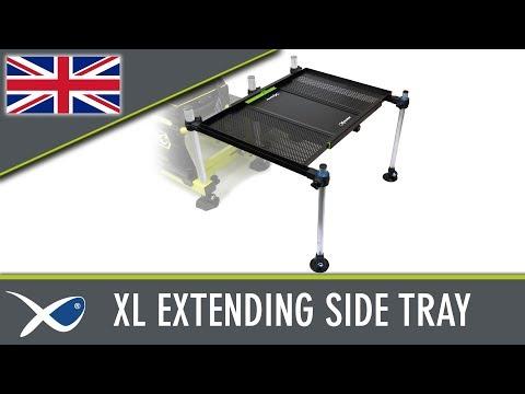 Matrix 3D XL Extendable Side Tray Versenyláda Kiegészítő videó