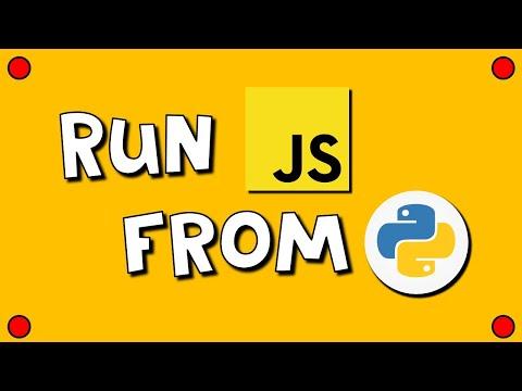 Run JavaScript from Python 💪😃👍