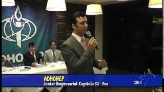 preview picture of video 'ADHONEP   JANTAR EMPRESARIAL   Capítulo 32   Foz do Iguaçu   2014'