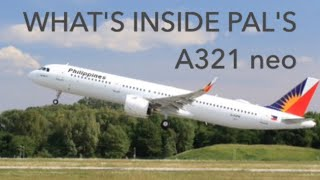 What's inside Philippine Airlines Brand new a321 neo