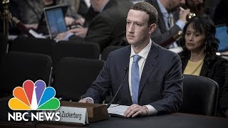 Facebook CEO Mark Zuckerberg Testifies Before Senate (Full) | NBC News