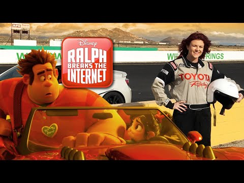 Ralph Breaks The Internet Race Day & Interviews with VFX and Stunt Lead!