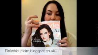 Instyle Magazine, Glamour And Cosmopolitan Offer For June 2012, And My Impressions Of Achica.com