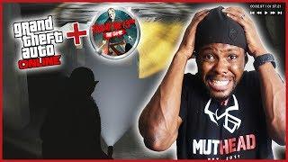 FRIDAY THE 13TH MEETS GTA 5! SUPER FUN SLASHER MODE! - GTA Online Gameplay