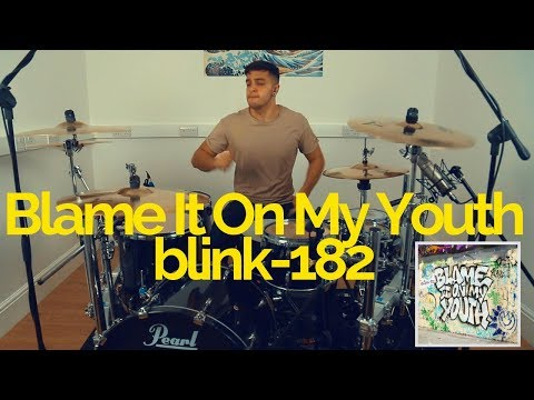 Blame It On My Youth - Blink-182 - Drum Cover - Tobines