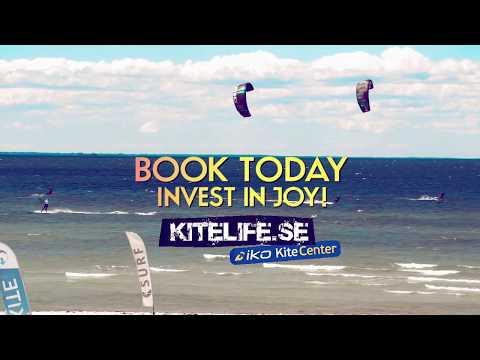Prova på kitesurf med Kitelife