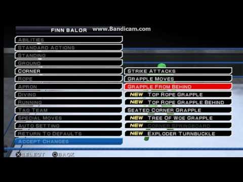 Download WWE SVR 11 Finn Balor Moveset Formula HD Mp4 3GP Video and MP3