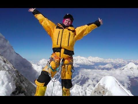 Carina bestiger berg på 8000 meter för miljöforskning