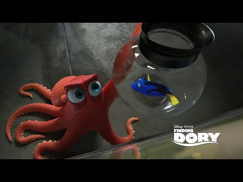 Hank the Septopus Finding Dory Easter Egg