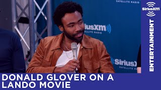Donald Glover discusses a Lando standalone film - Video Youtube